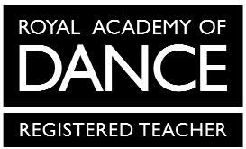 Royal Academy of Dance (RAD) registered teacher logo